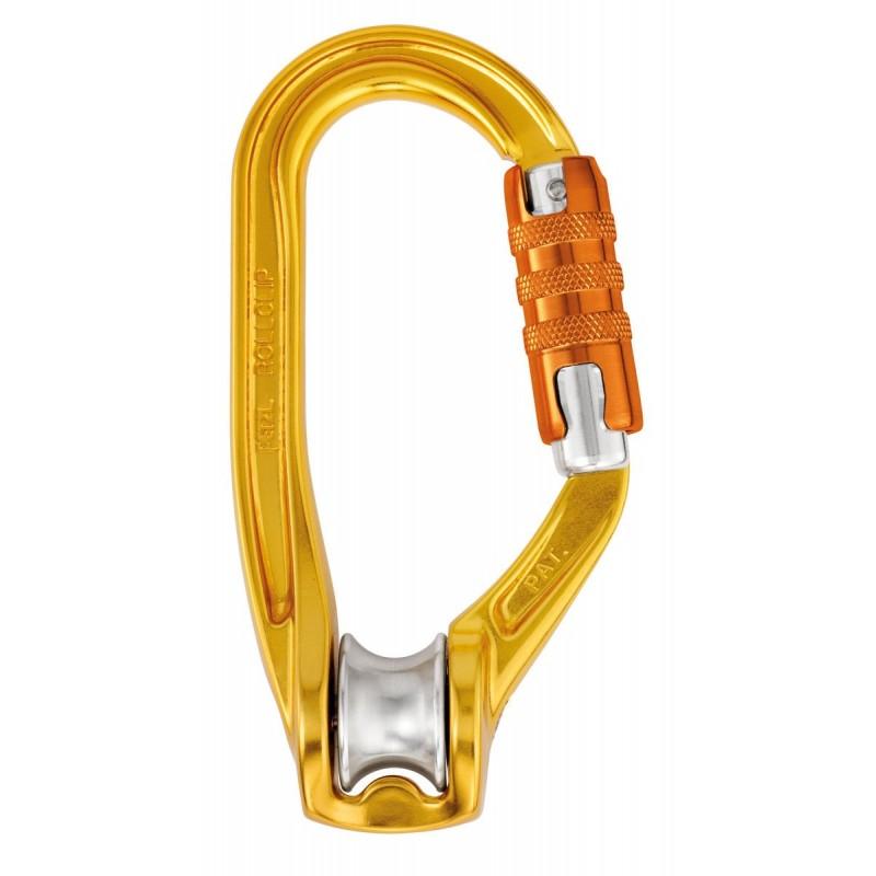 Polea mosquetón Rollclip A Triact Lock