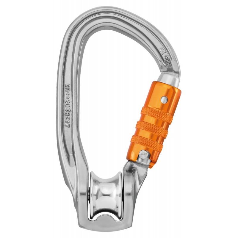 Polea mosquetón Rollclip Z Triact Lock