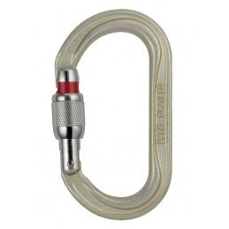 Mosquetón oval de alta resistencia Oxan Screw Lock